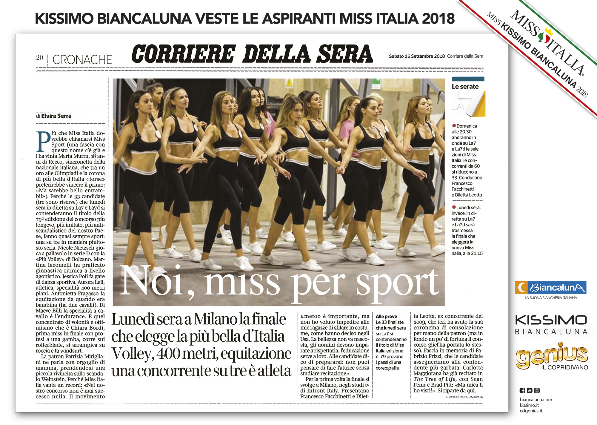 kissimo-biancaluna-miss-italia-2018-corriere-della-sera-15-settembre-2018